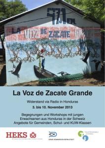 Flyer zum Besuch in der Schweiz