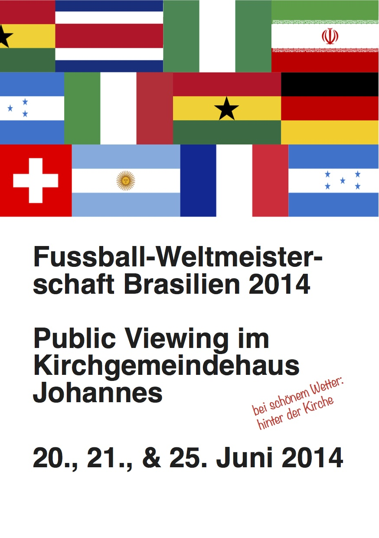 Flyer Public Viewing