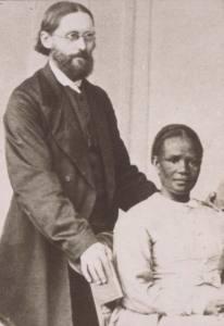 Zimmermann, Johannes und [Ehefrau] Zimmermann-Mulgrave, Catherina 1872/73 –© Archiv Basler Mission QS-30.002.0237.03
